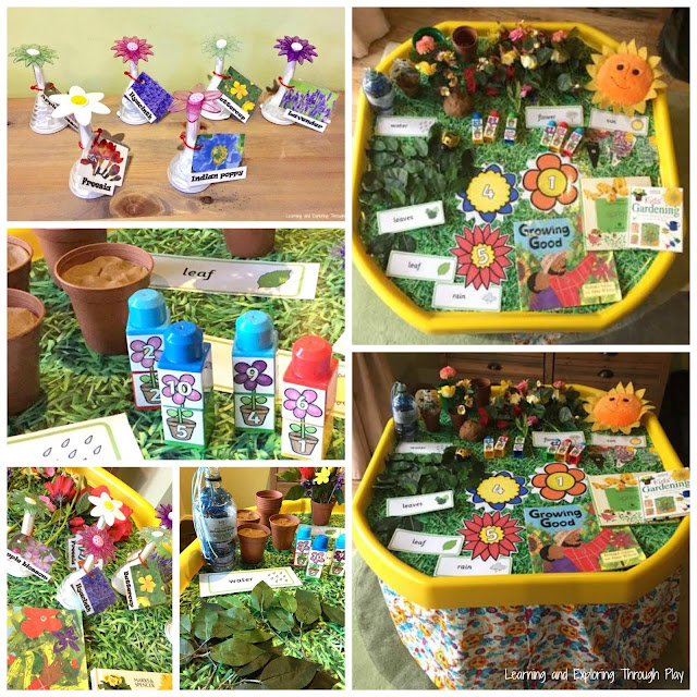 Spring Activities and Sensory Play for Preschool.