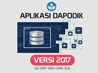 Aplikasi Dapodikdasmen Versi 2017 Resmi Dirilis