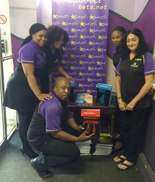 Team members from our Empangeni branch visited Crossroads Teen Centre to deliver some much-needed study guides