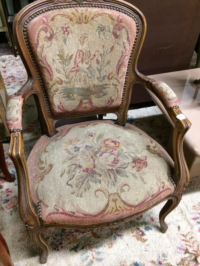 French Provincial Chair >> Maison Decor: Chairs~painted, cherry, fancy and country ...