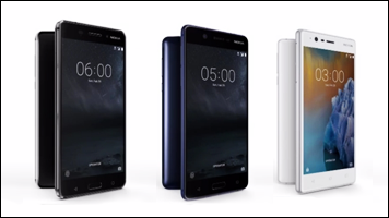 Introducing Nokia 3, 5 & 6