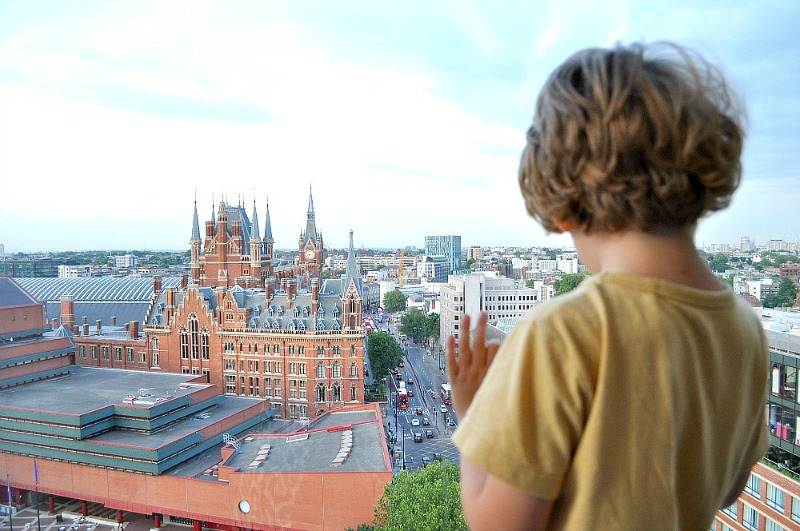 London Views from the Pullman London St Pancras Hotel