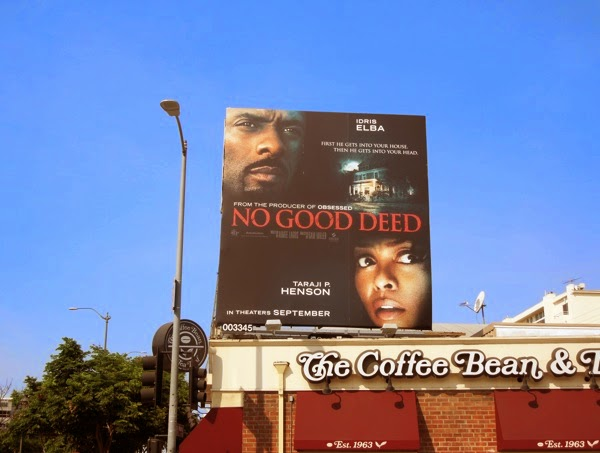 No Good Deed billboard
