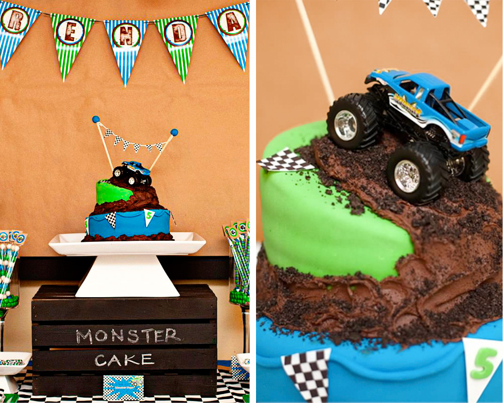 Amanda S Parties To Go Monster Truck Party