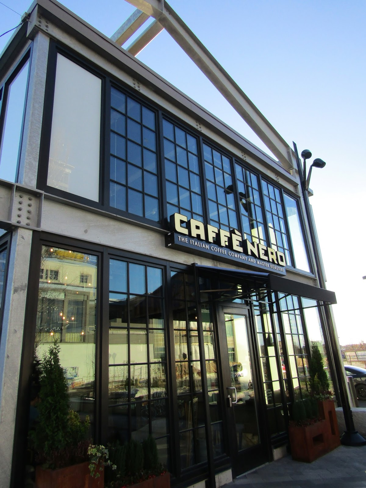 The Boston Foodie: Caffe Nero At Assembly Row