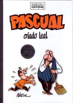 RBA en su colección clásicos del humor recopiló muchas páginas de la serie Pascual criado leal
