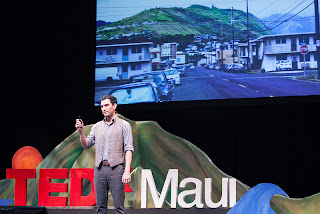 OluKai's Narrative Talk Story Presented Through Archie Kalepa  at TEDxMaui 2013 10
