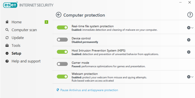 ESET Internet Security 12.1.34.0