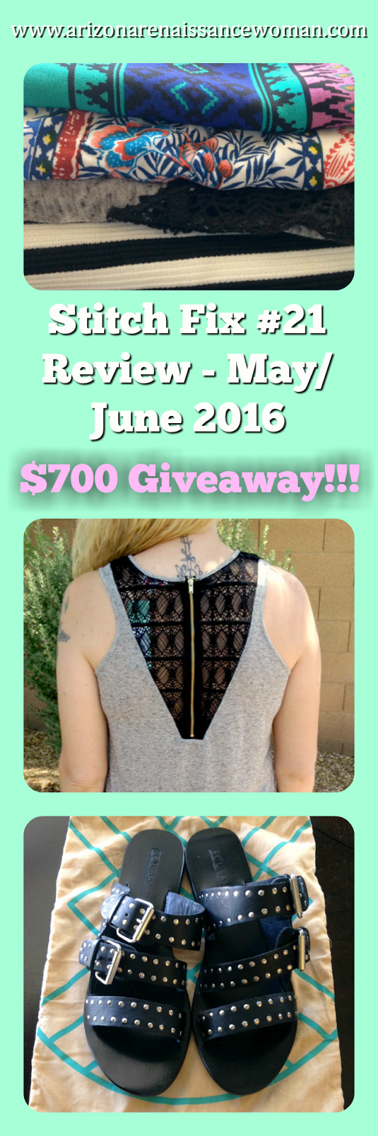 Stitch Fix Review - May/June 2016 - $700 Giveaway - Collage
