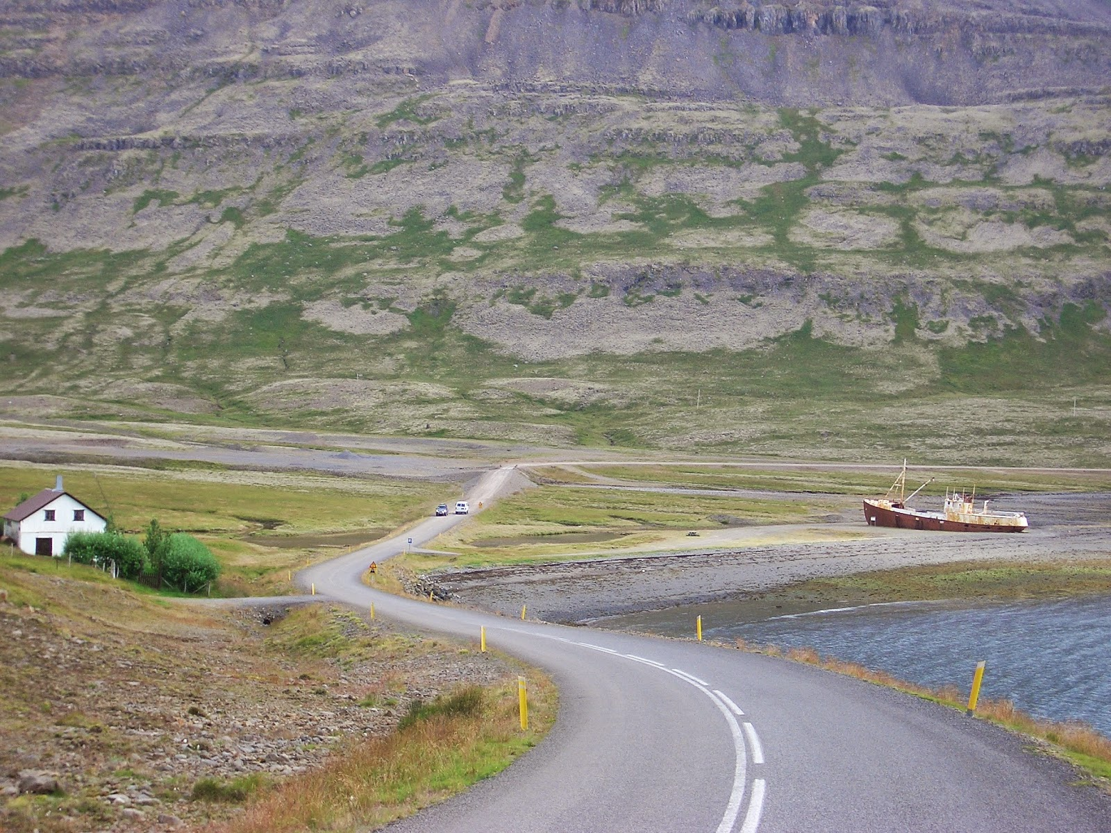 Marea baja, Islandia