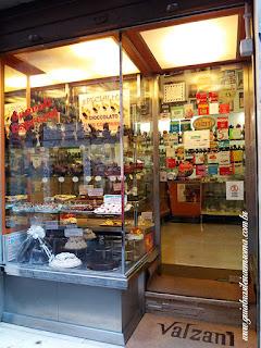valzani roma doceria trastevere chocolate artesanal - Docerias em Trastevere