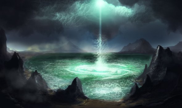 Dusty Crosley deviantart ilustrações ficção científica espaço sideral futurista