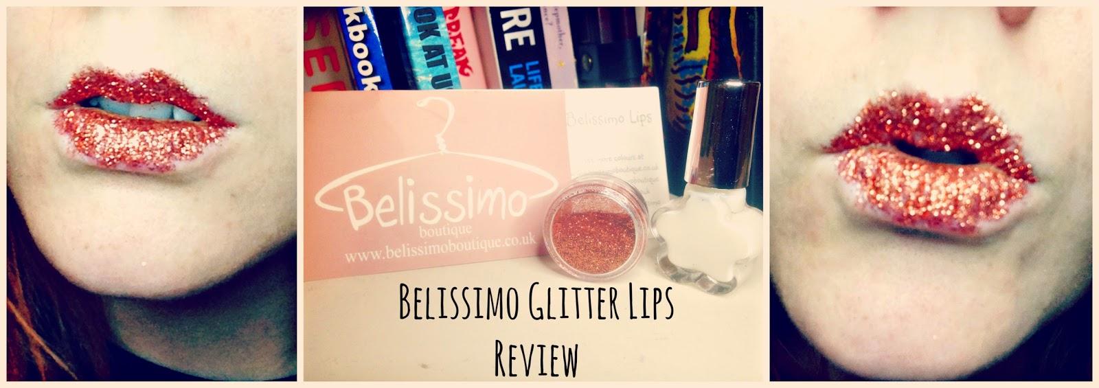 Belissimo Glitter Lips