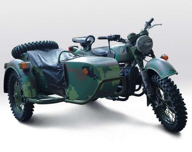Миномётный мотоцикл