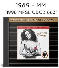 1989 - Mother's Milk (1996 MFSL UDCD 683)
