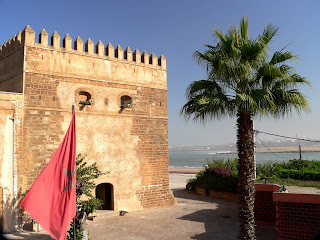 Chellah the Fortress in Rabat - Morocco