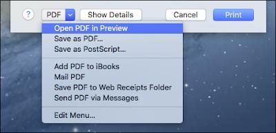 create pdf document mac