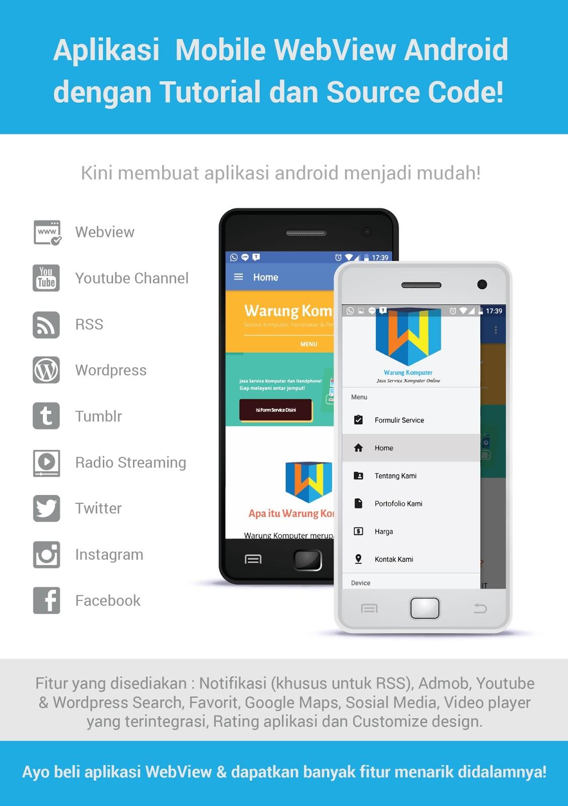 Cara Membuat Aplikasi Mobile Android Webview Dengan Mudah Dan Praktis Ardiyansyah Com