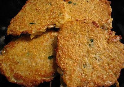 Spicy Potato Pancakes
