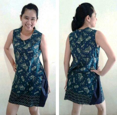 model baju endek wanita
