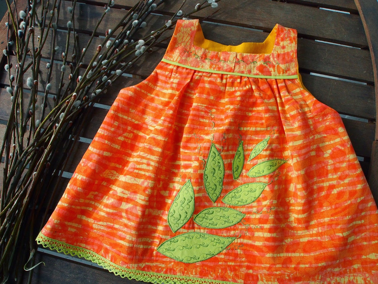 vauvan mekko helppo