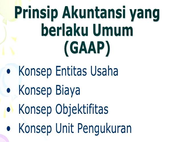 Prinsip GAAP