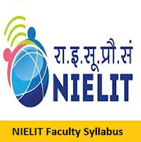 NIELIT Faculty Syllabus