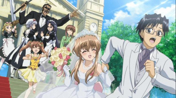 Nogizaka Haruka no Himitsu - Daftar Anime Romance Ending Menikah