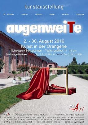 Kunstausstellung augenweiTe Schwetzingen Schloß
