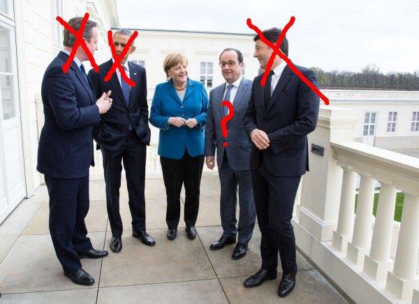 """Angela Merkel, tomou conhecimento """"com pesar"""" da renúncia do primeiro-ministro italiano, Matteo Renzi, informou o porta-voz do governo alemão"""