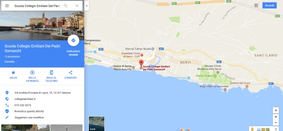 https://www.google.it/maps/place/Scuola+Collegio+Emiliani+Dei+Padri+Somaschi/@44.3828773,9.0299796,15z/data=!4m5!3m4!1s0x0:0xb7e55aac37928d2f!8m2!3d44.3828773!4d9.0299796
