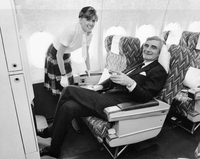 British Caledonian Executive Cabin