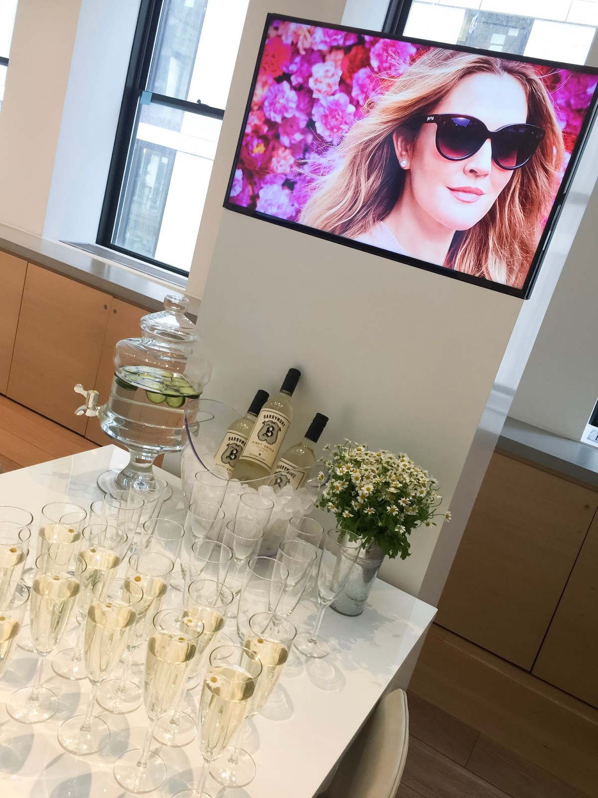 Drew Barrymore's Flower Eyewear, flowers, new york city events, blogger events, eyewear, glasses, sunglasses, nyc blogger events, Drew Barrymore