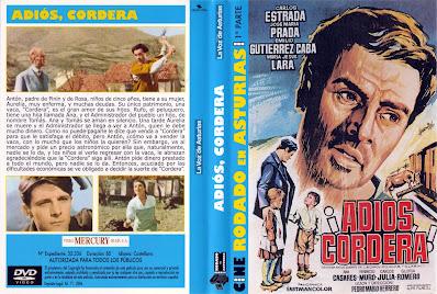 Cover, dvd, caratula: Adiós cordera | 1969