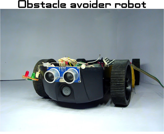 Obstacle avoider robot for beginners