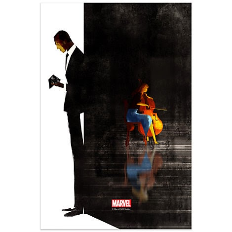 "Agents of SHIELD The Art of Level 7 Print #3 - ""The Only Light In The Darkness"" by Pascal Campion"