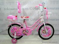 1 Sepeda Anak Nakita NL1602 Butterfly Sandaran 16 Inci