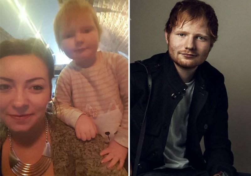Ed Sheeran se pronuncia ante el escándalo de la bebé que lleva su cara (VIDEO)
