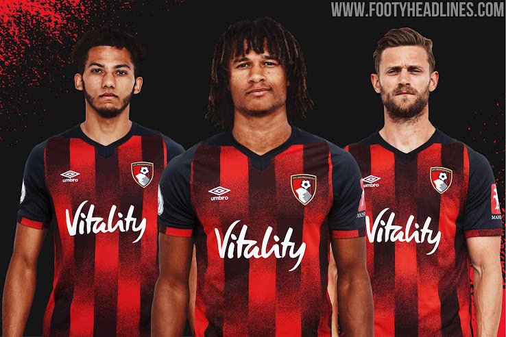 Bournemouth 20-21 Home Kit Released  for the Premier League