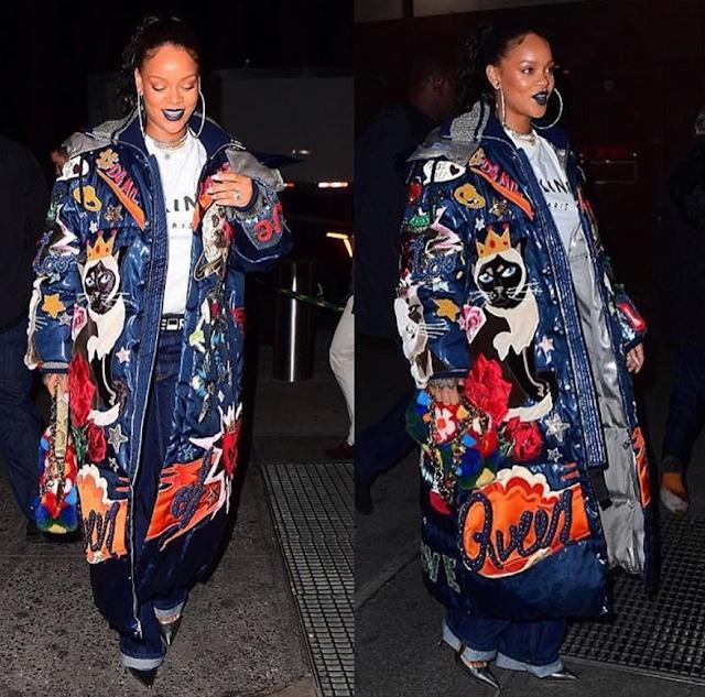 Rihanna sparks engagement rumours (photo)