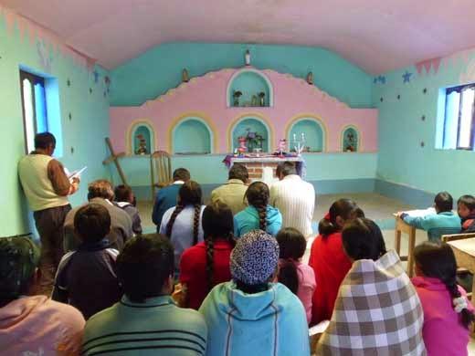 Kapelle in Rio Chilenas