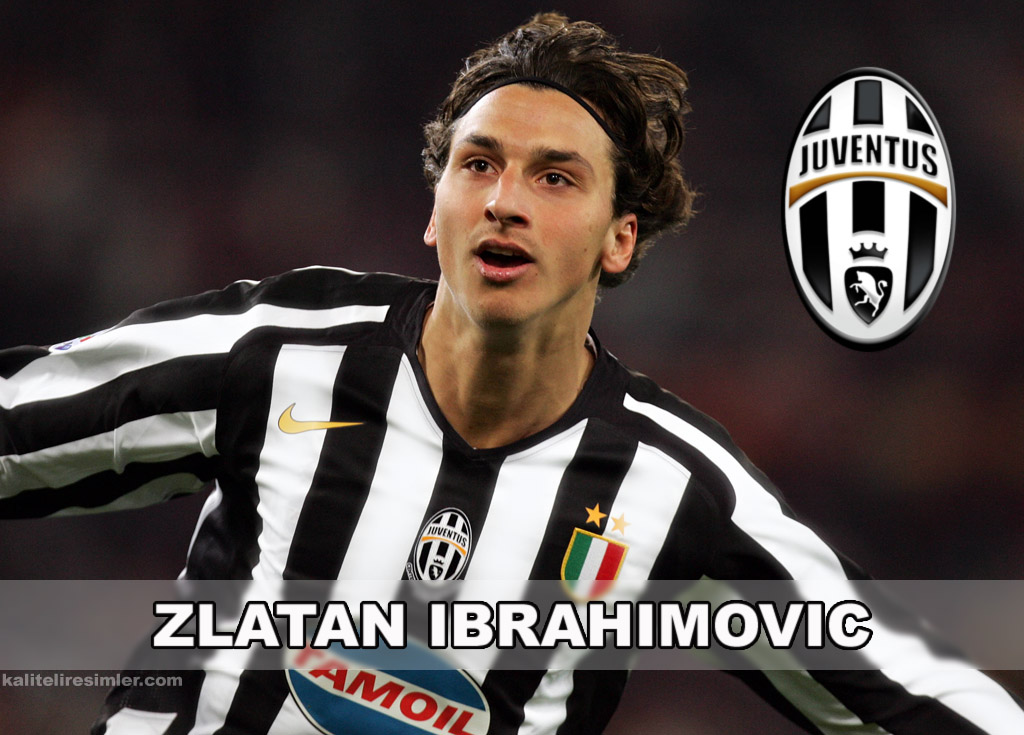 Zlatan Ibrahimovic's hair when he was younger