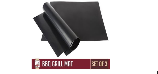 Twisted BBQ Grill Chef Mat