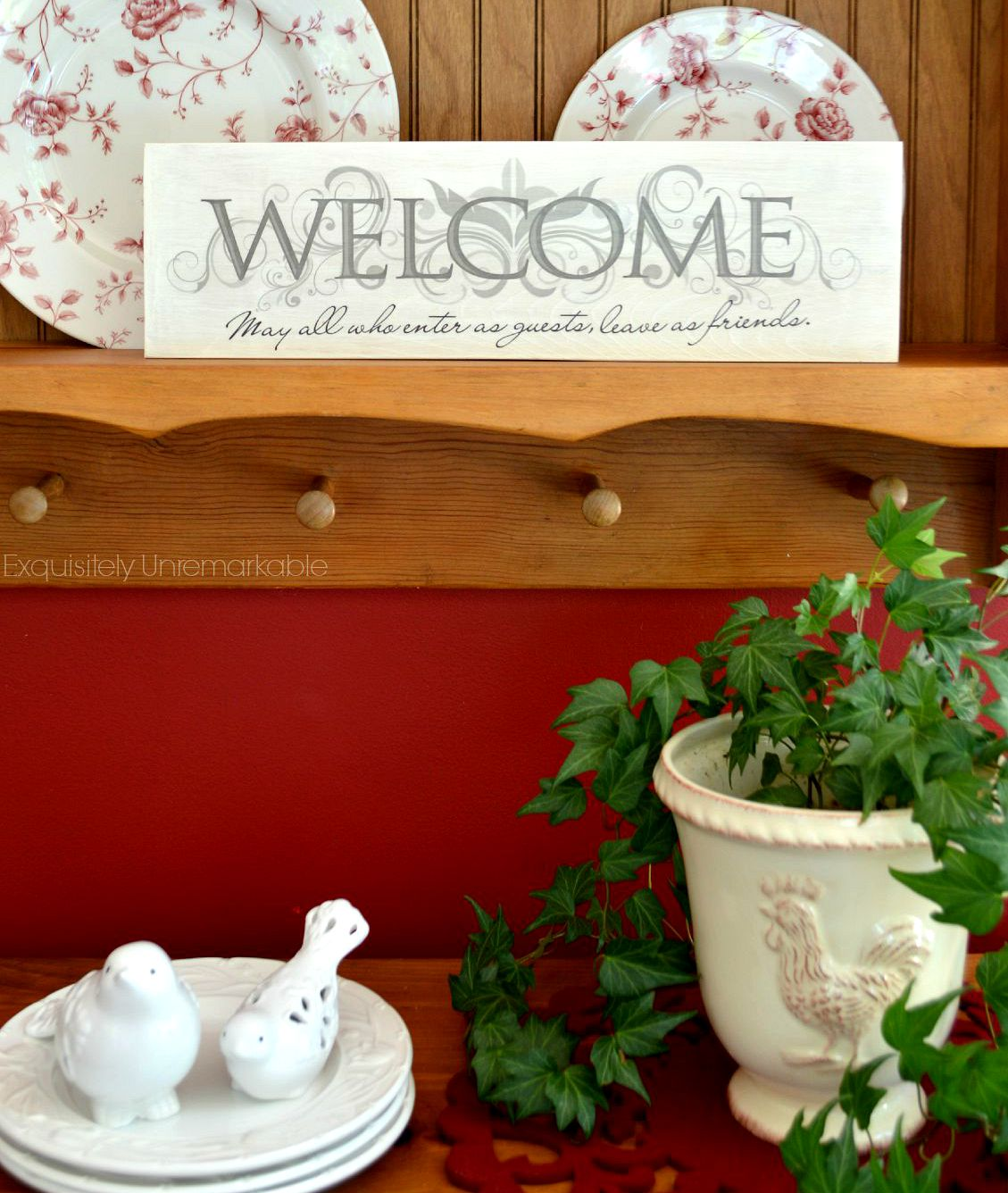 Homemade Christmas Gifts: DIY Sign