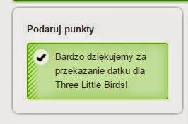 Three Little Birds darowizna