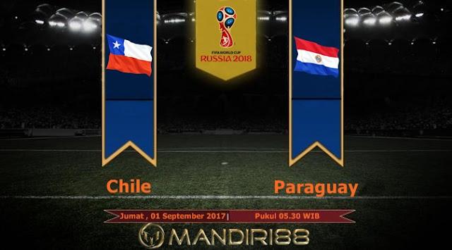 Prediksi Bola : Chile Vs Paraguay , Jumat 01 September 2017 Pukul 05.30 WIB