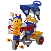 family lebah sepeda roda tiga