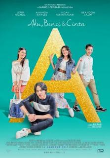 Download Film  Aku, Benci Dan Cinta (2017)