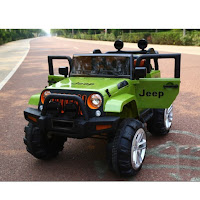 unikids uk635 jeep mobil mainan aki anak