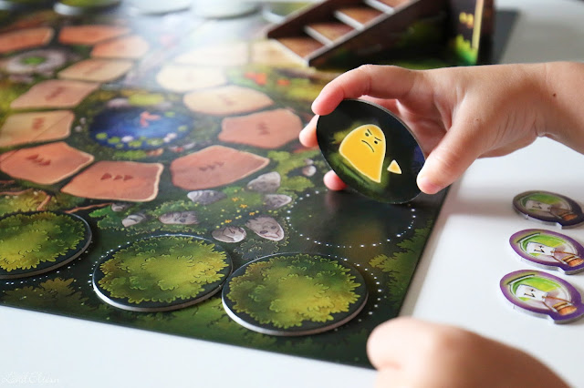 Brettspiel - Kinderspiel - Zauberei hoch drei - Pegasus Spiele